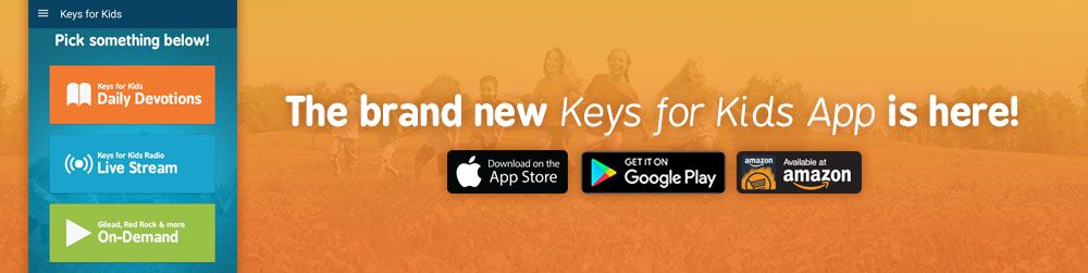 The brand new Keys for Kids Mobile App is here for download!