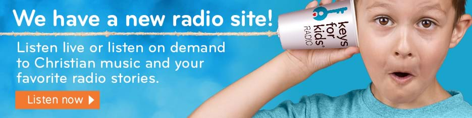 We have a new radio site! Listen live or listen on demand to Christian music and your favorite radio stories.