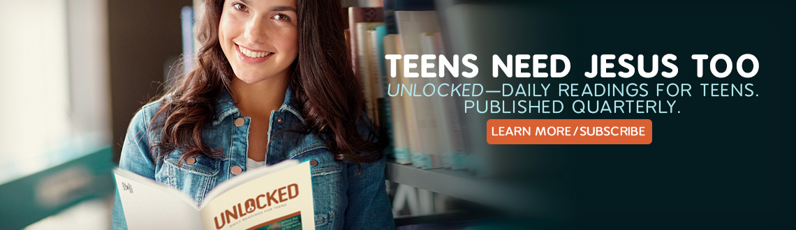 Unlocked Teen Devotional